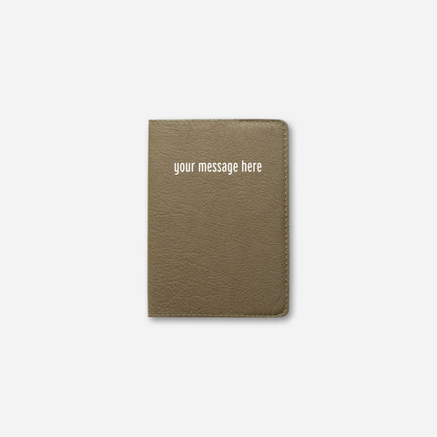 BRONZE OLIVE PASSPORT HOLDER