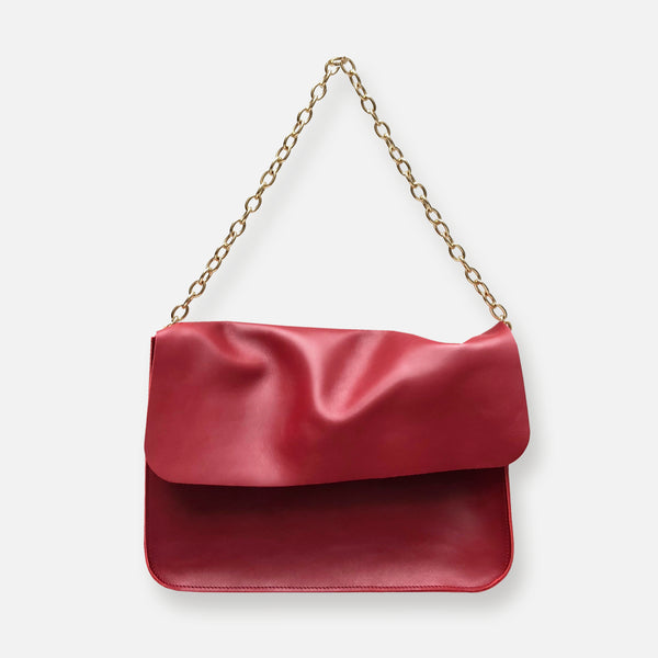 TITA HANDBAG • DAHLIA RED