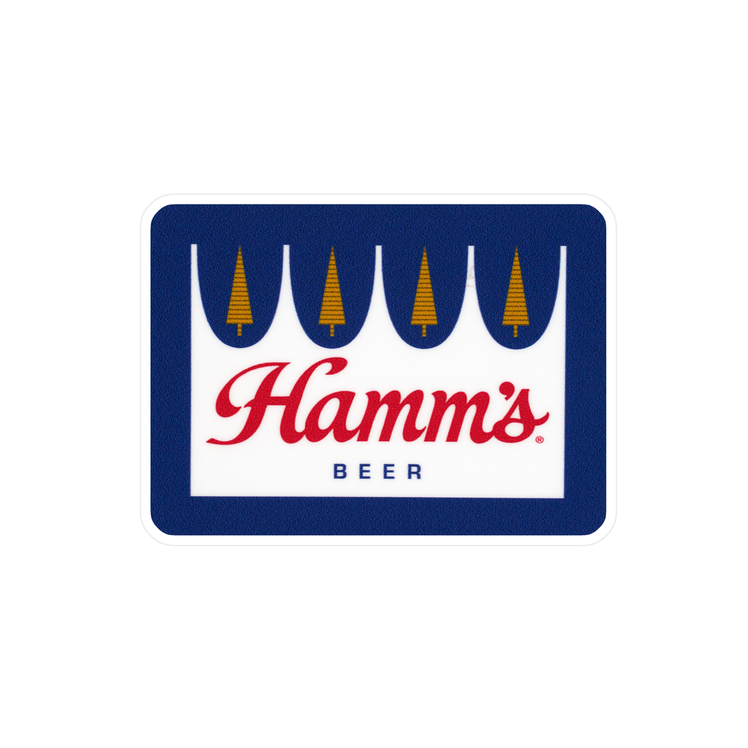 Hamm's Crown Sticker