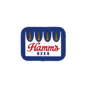 Hamm's Beer Iron-On Crown Patch