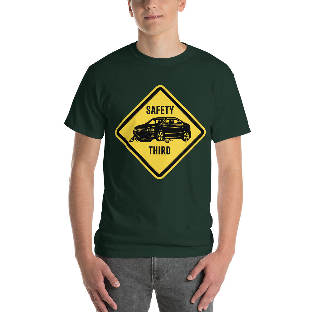 "S60R ""Safety Third Sign"" Heavy T-Shirt"