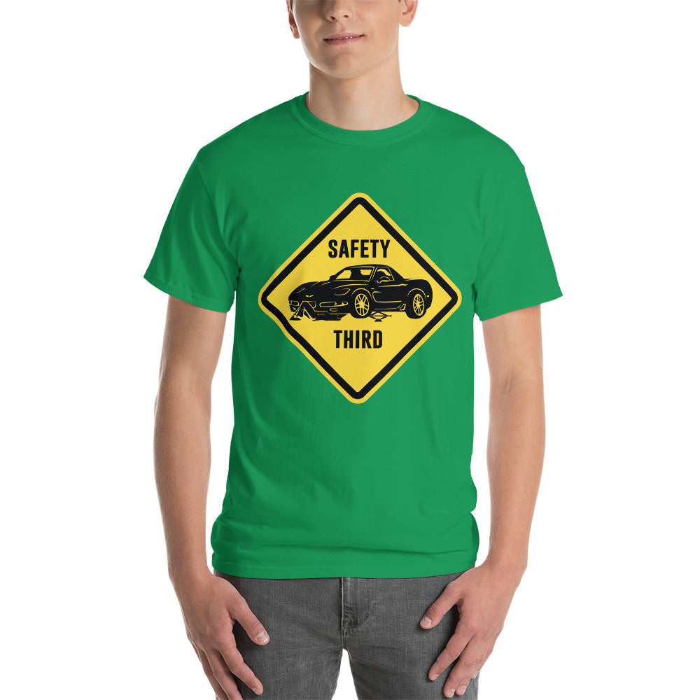 "C5 ""Safety Third Sign"" Heavy T-Shirt"