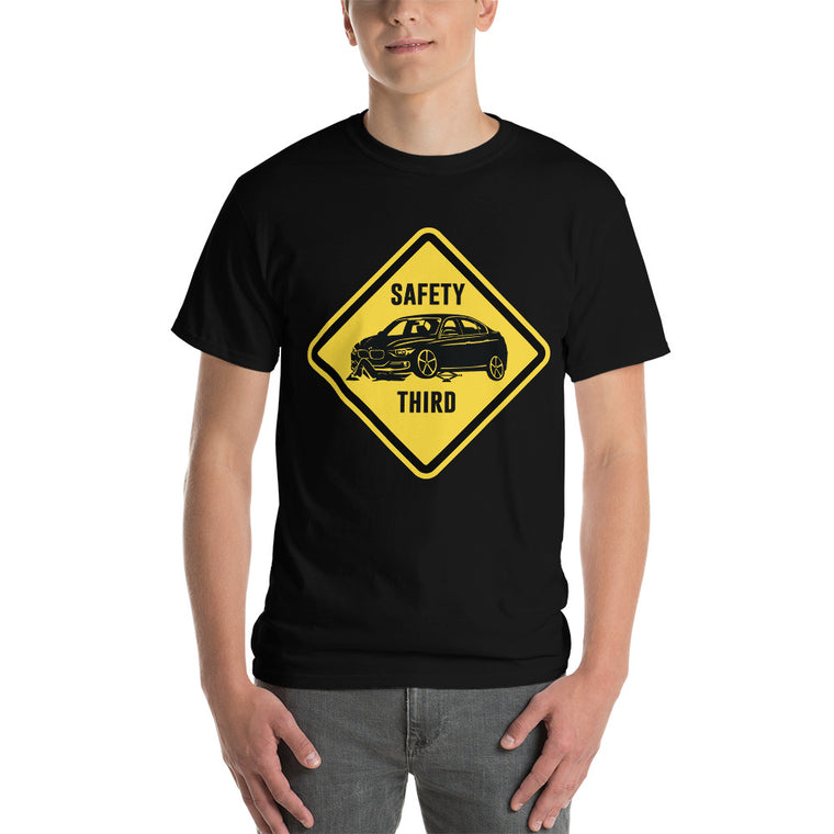"F30 ""Safety Third Sign"" Heavy T-Shirt"