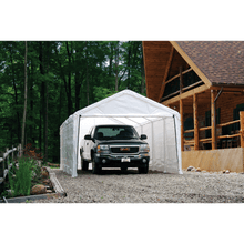 "Load image into Gallery viewer, ShelterLogic 12×26 White Canopy Enclosure Kit, Fits 2"" Frame"