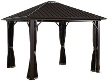Load image into Gallery viewer, Sojag GENOVA #53 Gazebo 12'x12' steel roof