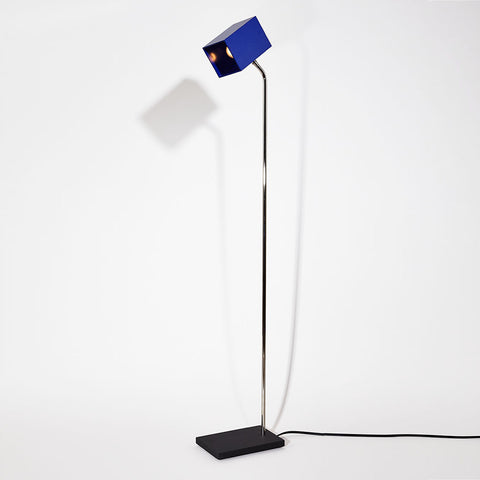 Blue Heron Floor Lamp