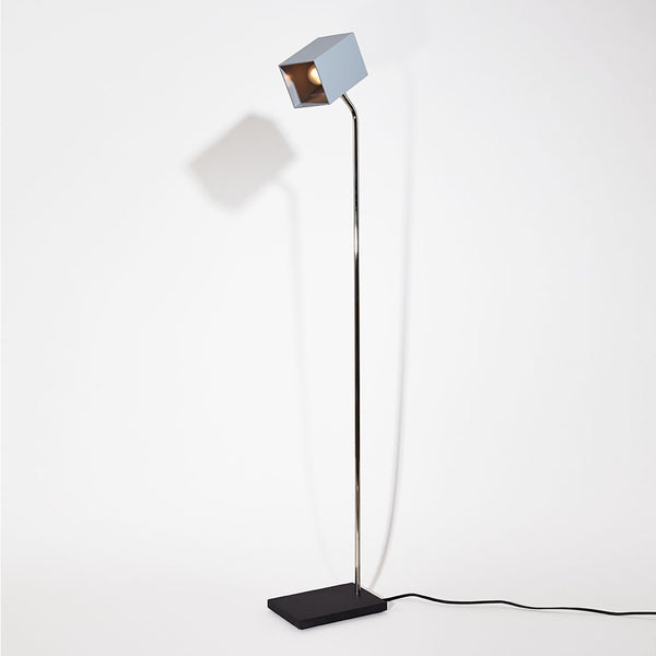 Grey Heron Floor Lamp