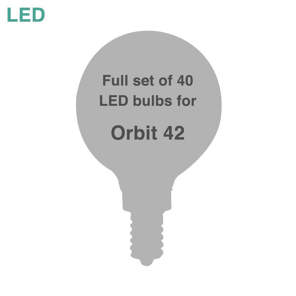 Bulk: Six sets of LED bulbs for Orbit 42