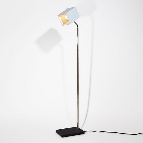 Ice Heron Floor Lamp