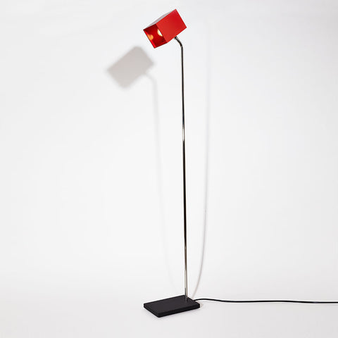 Red Heron Floor Lamp