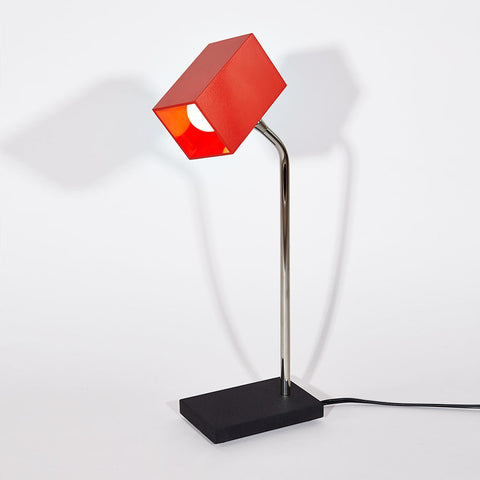 Red Heron Table Lamp