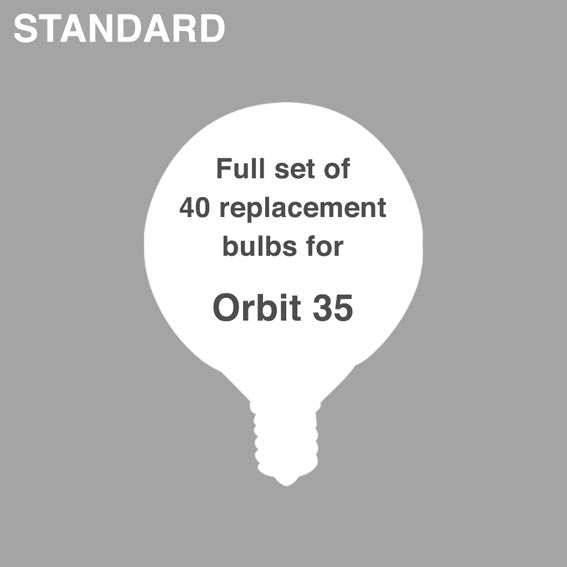 Bulb Set: Orbit 35 + Orbit Shorty