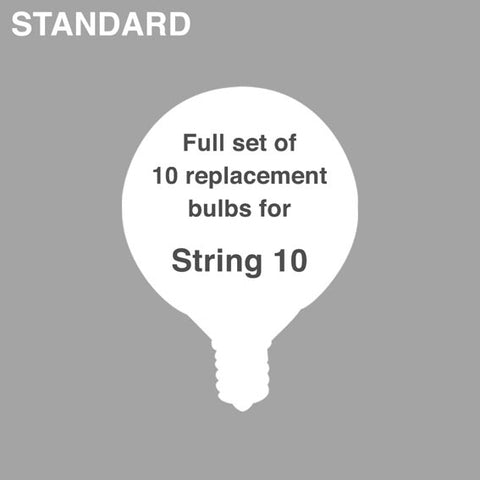 Two Bulb Sets: String 10