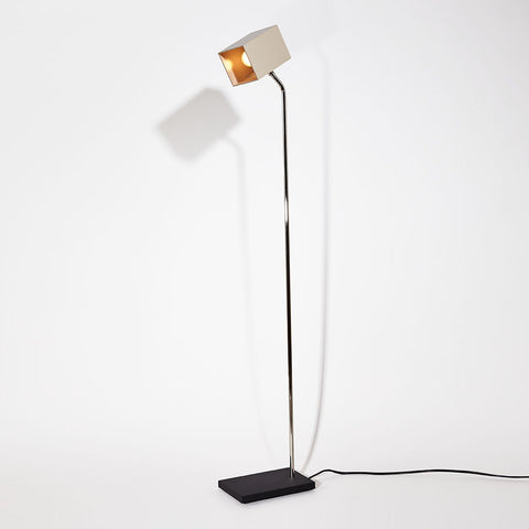Stone Heron Floor Lamp