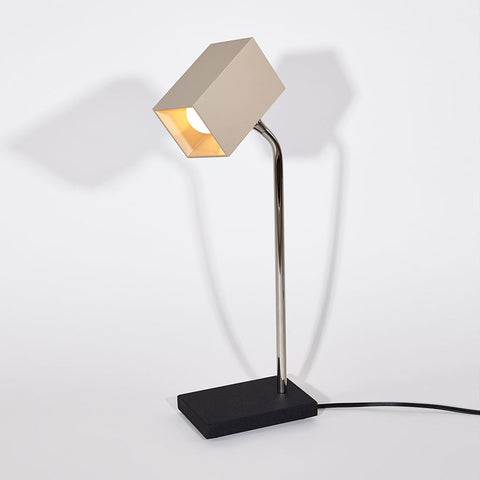 Stone Heron Table Lamp