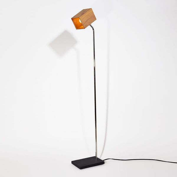Woodsy Heron Floor Lamp
