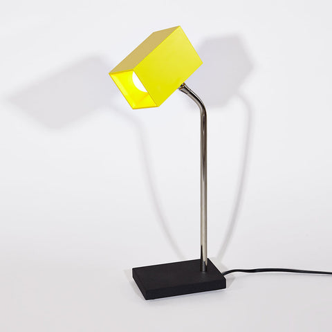 Yellow Heron Table Lamp