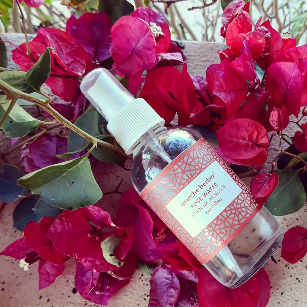 Marché Berber Rose Water