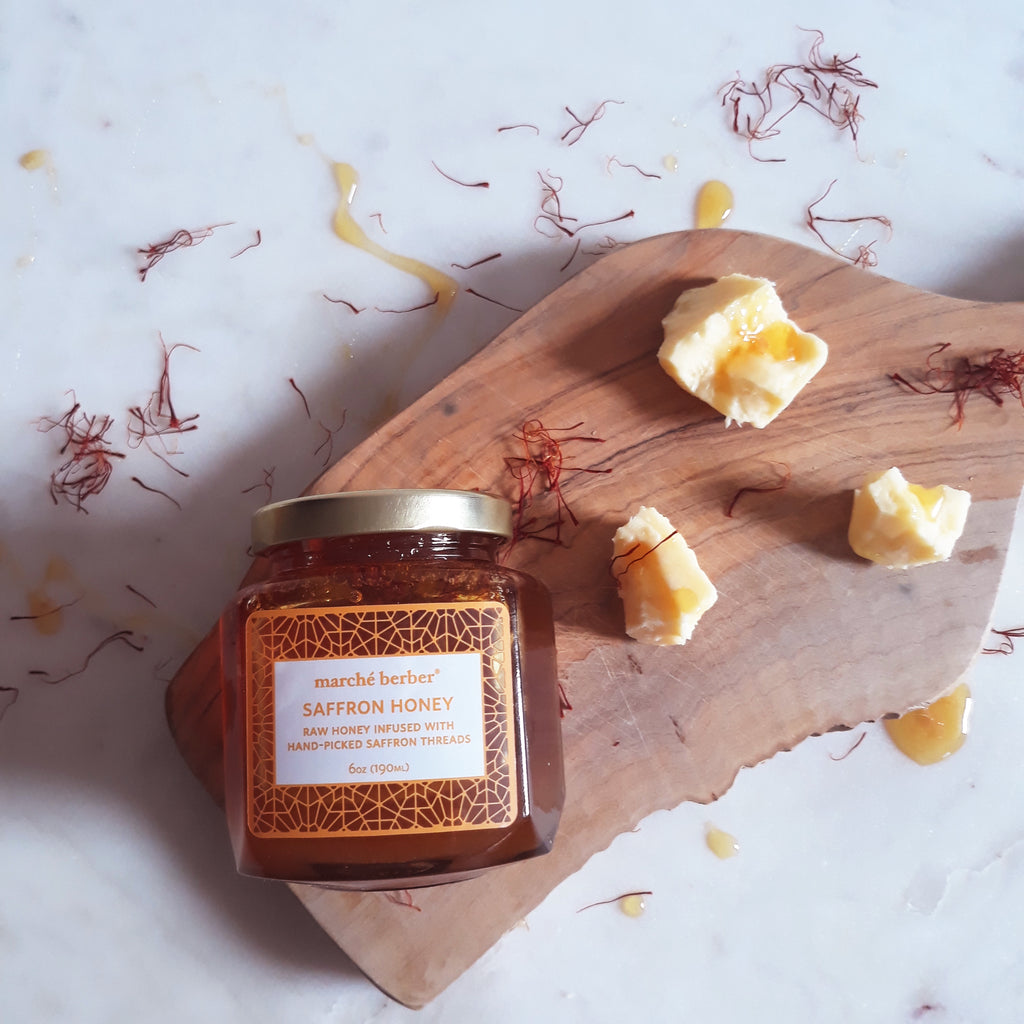 Marché Berber Saffron Honey