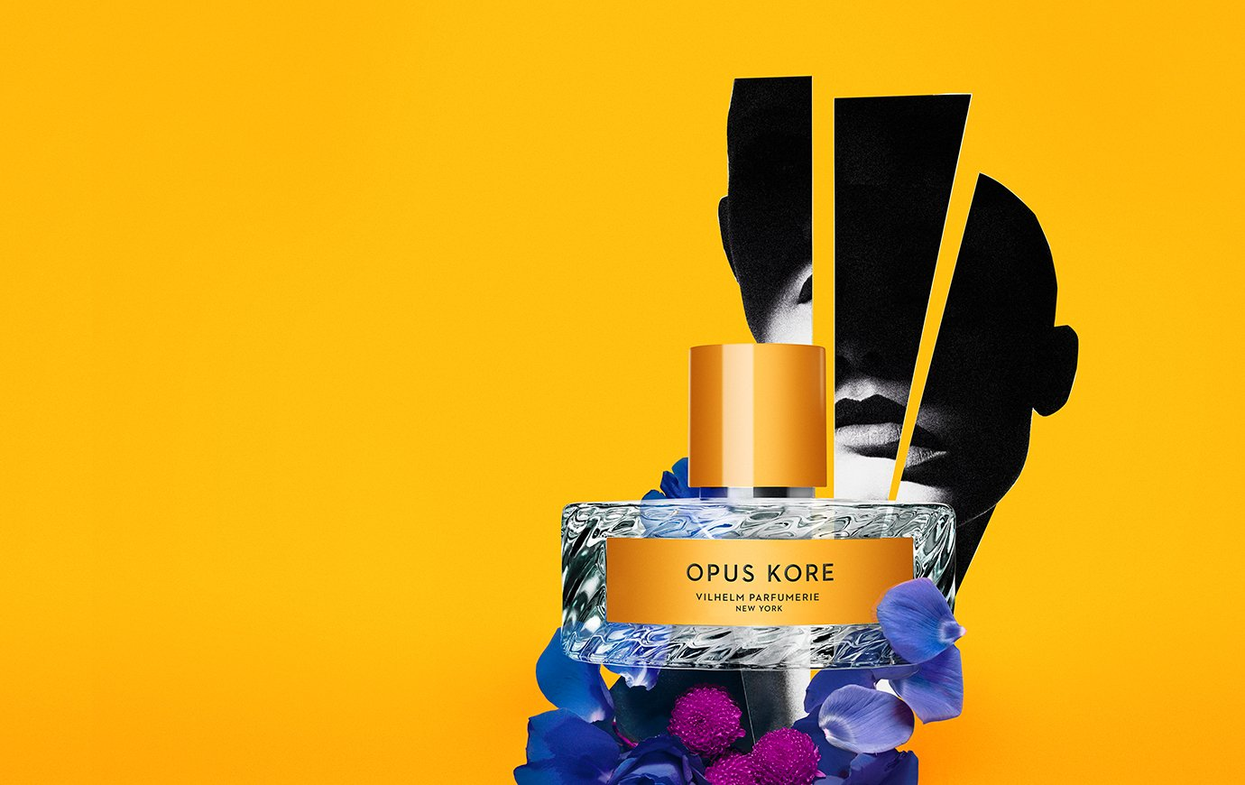 Fruity floral perfume smell