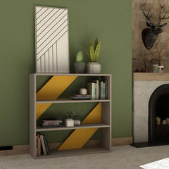 Mutard Colour Bookcase