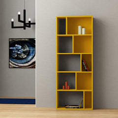 Mustard Colour Bookcase