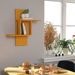 Mustard Colour Wall Shelf