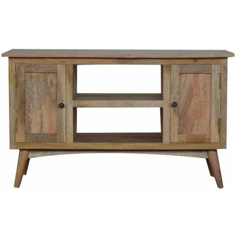 2 Door Solid Wood Tv Unit-Modern Furniture Deals