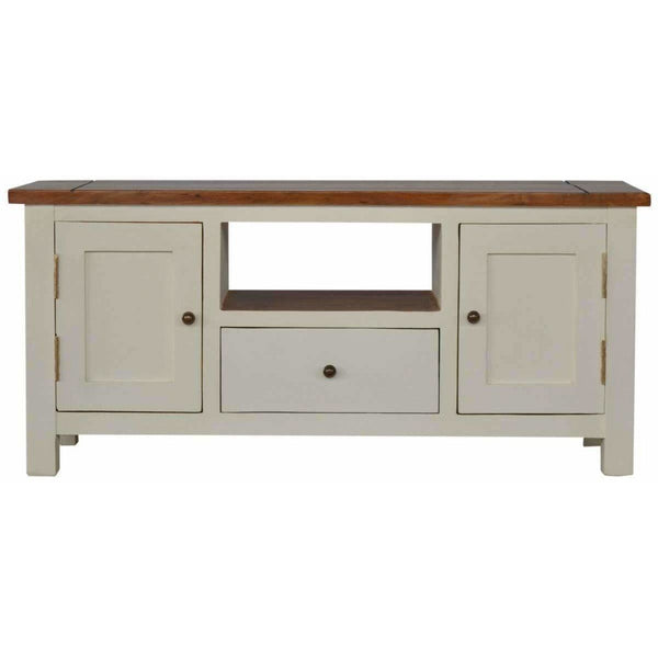 2+1 Solid Wood Media Unit-Modern Furniture Deals