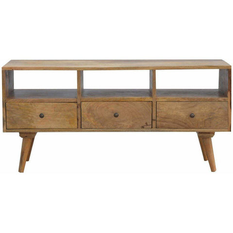3+3 Solid Wood Tv Unit-Modern Furniture Deals