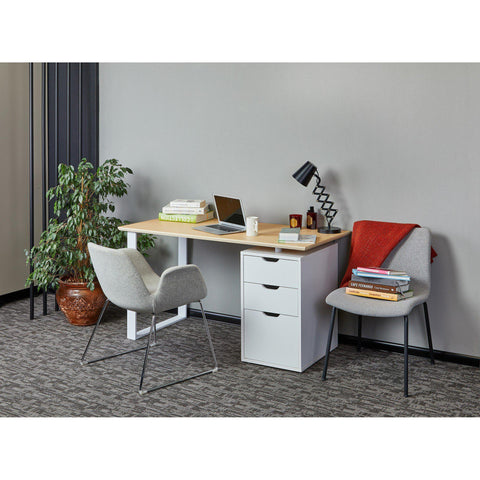 OGG 3 Drawer Desk-Desk-[70% Sale for Unique Designer Brands]-Modern Furniture Deals