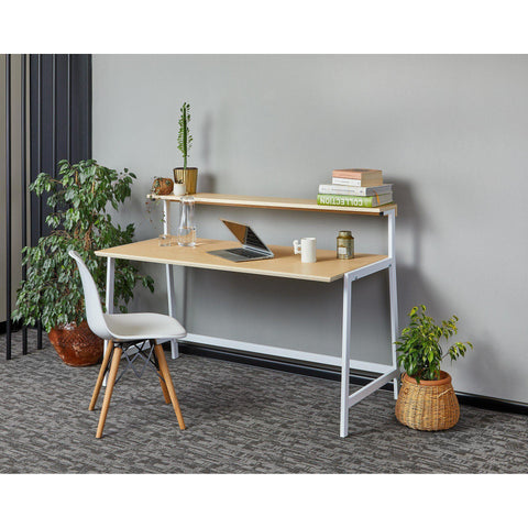 OGG Desk With Shelf-Desk-[70% Sale for Unique Designer Brands]-Modern Furniture Deals