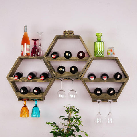 CUBA Wine Rack Set-Wine Rack-[70% Sale for Unique Designer Brands]-Modern Furniture Deals