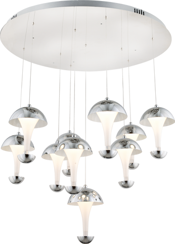 Adel 10 Pendant Chandalier-PENDANT LIGHT-Modern Furniture Deals