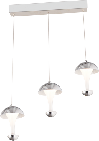Adel 3-Light in-Line Pendant Chandalier