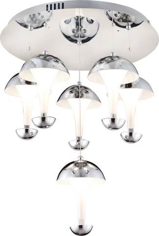 Adel 6-Light Pendant Chandalier-PENDANT LIGHT-Modern Furniture Deals