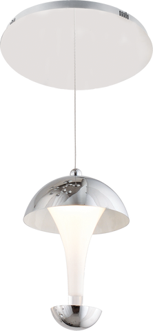 Adel 1-Light Pendant Chandalier