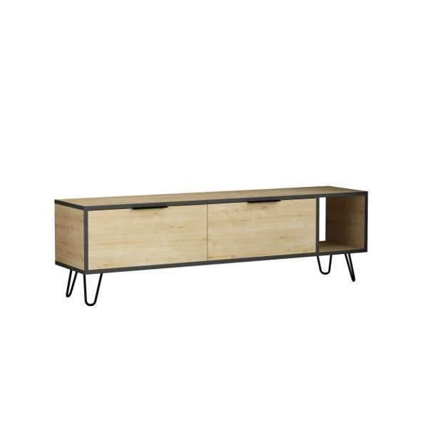 Abigail Tv Stand-Oak-Grey-Modern Furniture Deals