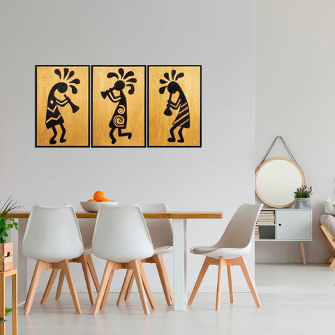 African Music 2 Wall Art-Metal Wall Art-[sale]-[design]-[modern]-Modern Furniture Deals