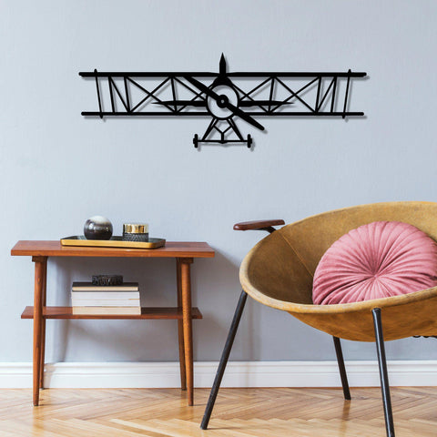 AIRPLANE Wall Art-Metal Wall Art-[sale]-[design]-[modern]-Modern Furniture Deals