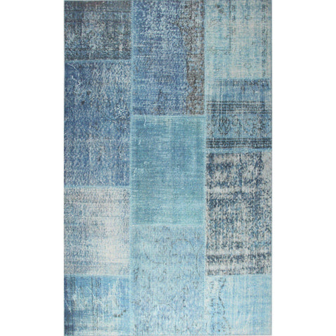 Alara Rug- Blue 75X300-Modern Furniture Deals