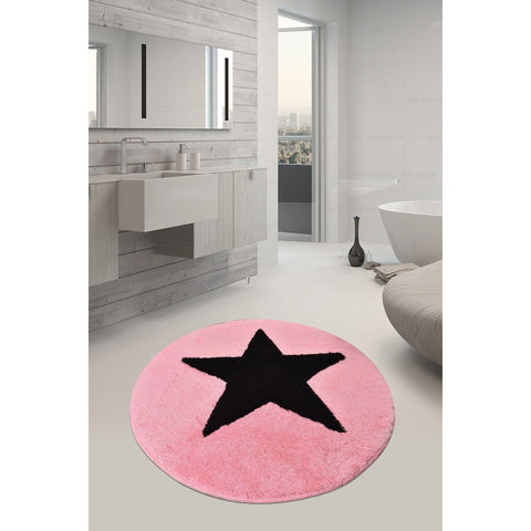 All Star - Candy Pink 7 Bath Mat-Bath Mat-[sale]-[design]-[modern]-Modern Furniture Deals