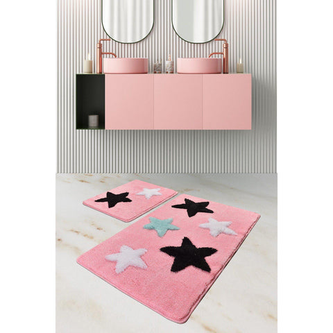 All Star - Candy Pink Bath Mat-Bath Mat-[sale]-[design]-[modern]-Modern Furniture Deals