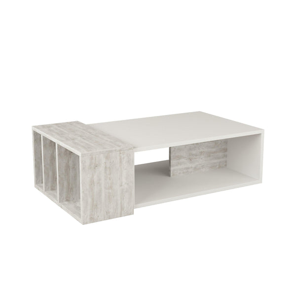 Anne Coffee Table-White-Antique White-Modern Furniture Deals