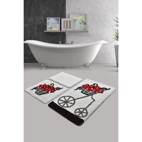 Aran Red Bath Mat-Bath Mat-[sale]-[design]-[modern]-Modern Furniture Deals