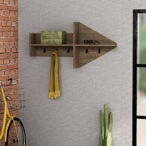Arrow Coat Rack-Oak-Modern Furniture Deals