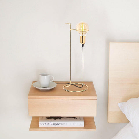Arte Table Lamp Gold-Modern Furniture Deals