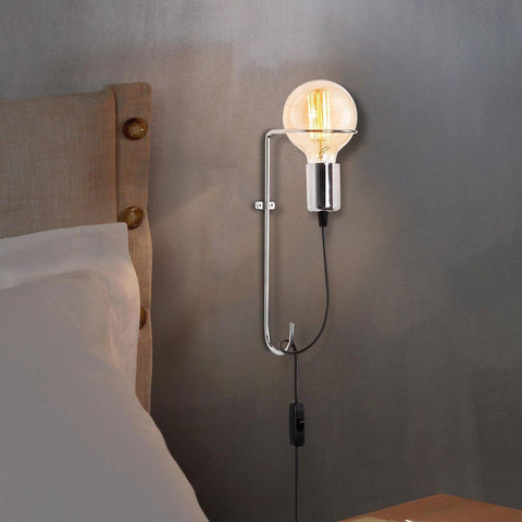 Arte Wall Light Silver-Modern Furniture Deals