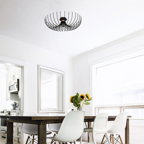 Astra Metal Ceiling Black-Ceiling Light-[sale]-[design]-[modern]-Modern Furniture Deals