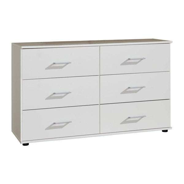 ATHOS Wide 6 Chest Of Drawers-Modern Furniture Deals